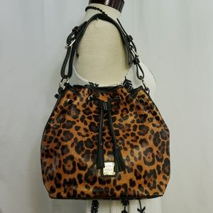 🆕️Dooney & Bourke Genuine Leather Leopard Print